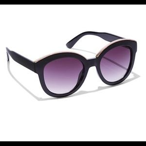 Blush-Hued Cat Eye Sunglasses
